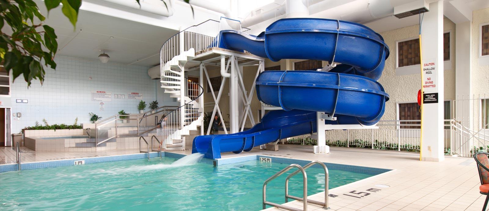 indoor pool with waterslide. Pool Indoor With Waterslide